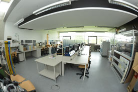 Blick in Laborraum