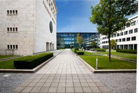 Gebäude der HDBW