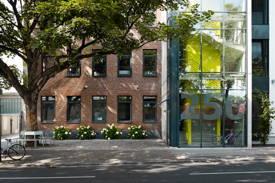 Außenfassade der ecosign / Akademie für Gestaltung