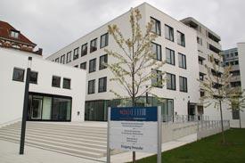 Das Hauptgebäude der HSVN
