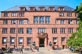 Kollegiengebäude der Albert-Ludwigs-Universität, Freiburg