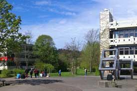 Der Campus der PH Freiburg