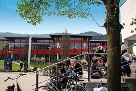 Die Mensa der PH Freiburg