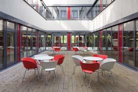 Atrium an der Hochschule Kehl