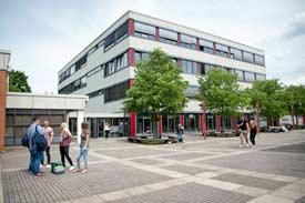 Das Hauptgebäude der Hochschule Kehl