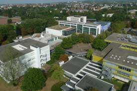 Luftbild der Hochschule Offenburg