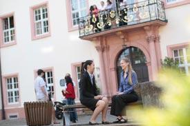 Studierende am Campus Gengenbach der Hochschule Offenburg
