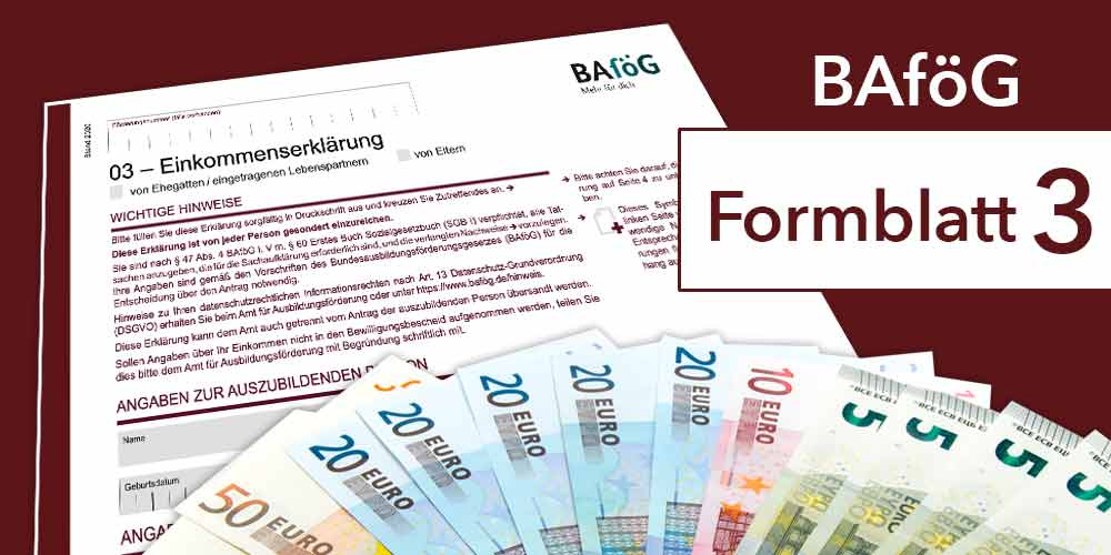 Bafog Formblatt 3 Ausfullen Studis Online