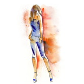 Zeichnung Modedesign