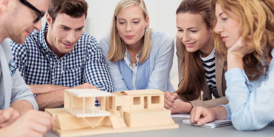 Studienf hrer architektur studieren for Architektur studieren info