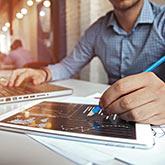 Analyse von Daten zur Bewertung von Veränderungen in der Unternehmenstätigkeit