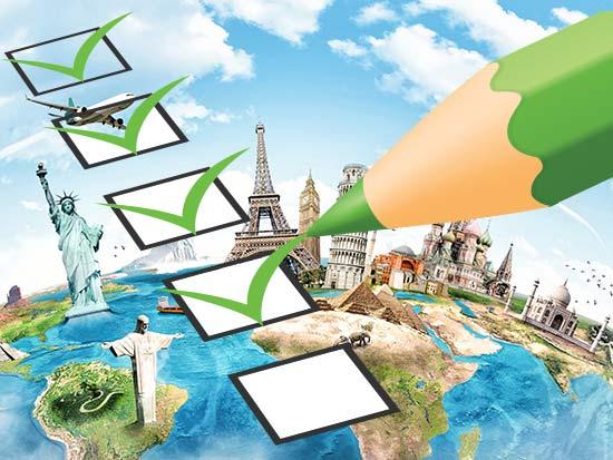 Checkliste für ein Auslandsstudium