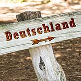 Wegweiser nach Deutschland