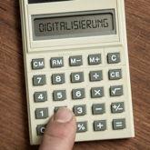 """Einfacher Taschenrechner mit Anzeige """"Digitalisierung"""""""