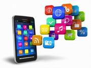 Handy mit App-Symbolen